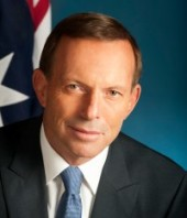 Tony Abbott Austrlian PM